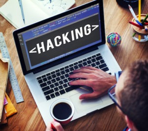 Hacking Hacker Data Information Cyberspace Concept