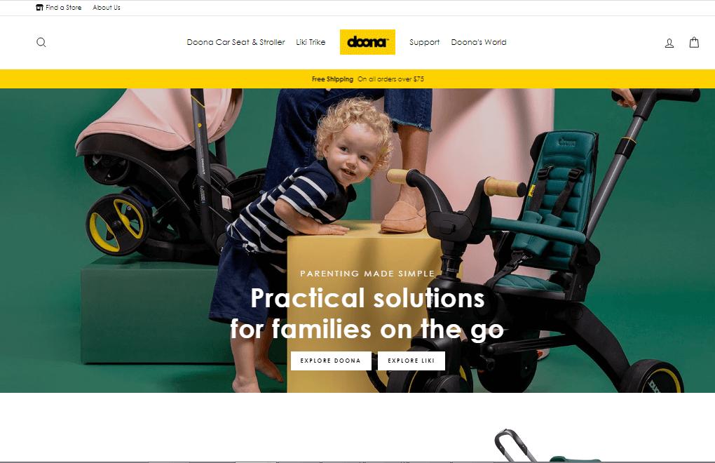 Shop Doona Web Design