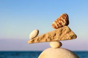 Symbol balance rocks