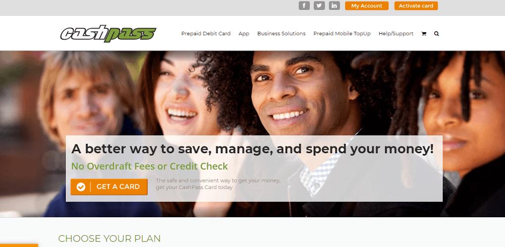 Cashpass Web Design