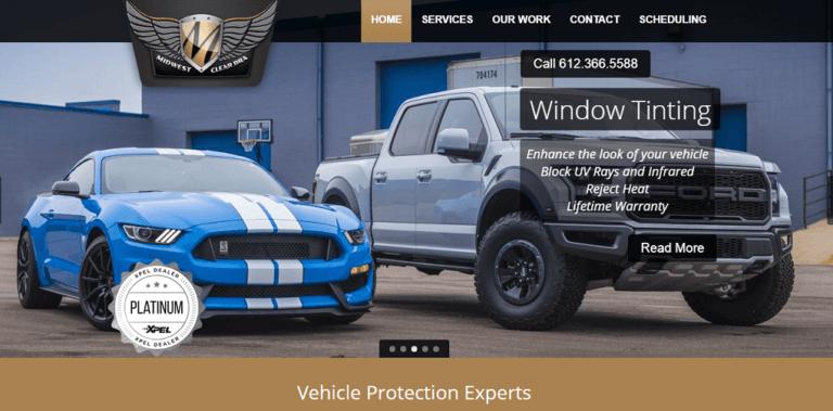 Automotive Website Design