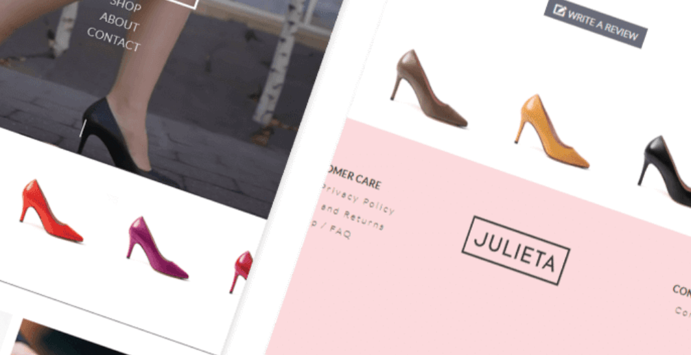 online shoe store